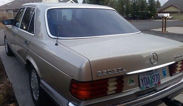 1985 euro spec mercedes sdl350 for Mercedes benz south bend
