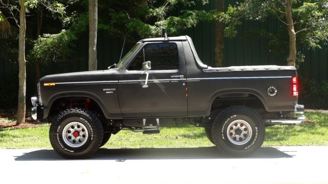 1985 ford bronco xlt edition customized restoration fun suv great tail gater for sale in boca. Black Bedroom Furniture Sets. Home Design Ideas