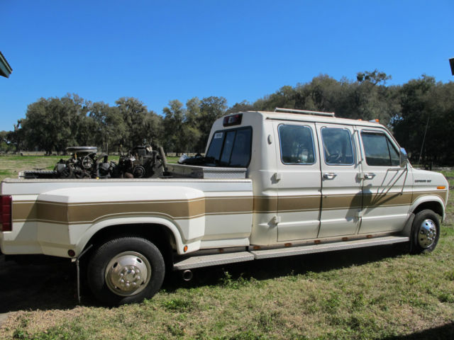 1985 Ford E350 Centurion Van Truck Cummins Conversion Gear Vendors Overdrive For Sale In Center Hill Florida United States