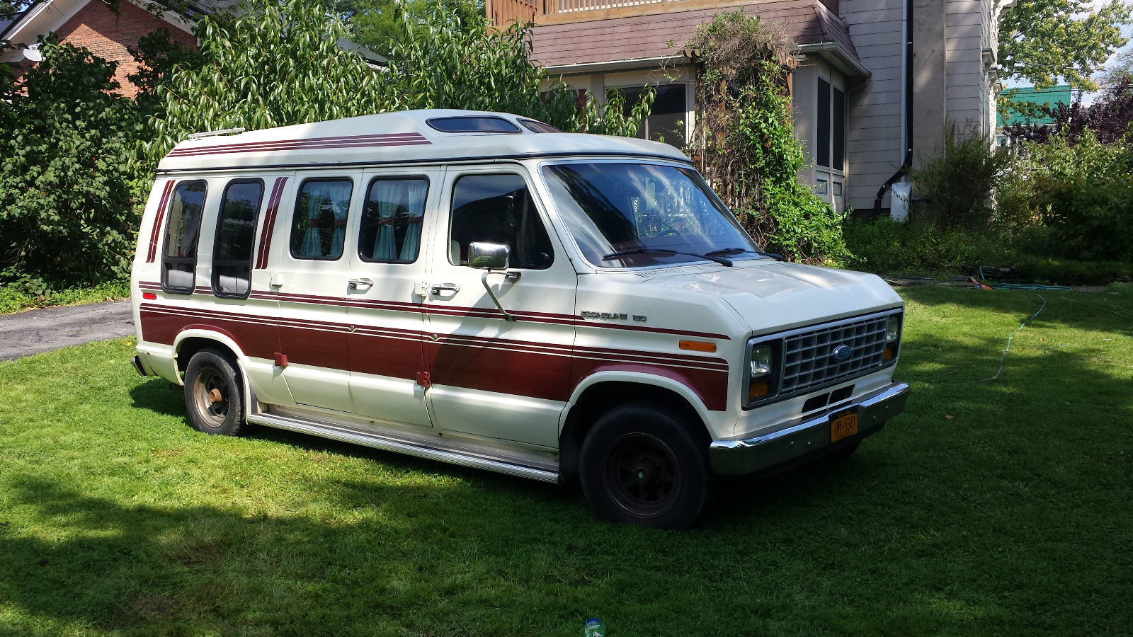 1985 Ford Econoline E 150 Conversion Van Low Miles Reserve For Sale In Locke New York United States