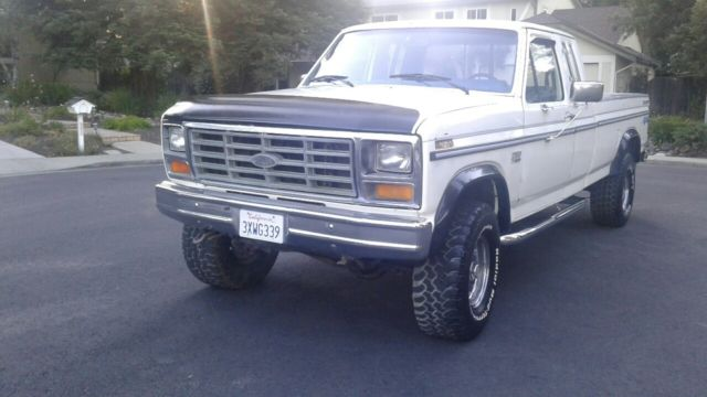 1985 Ford F150 Lariat Explorer 4x4 351 High Output Extended Cab Long
