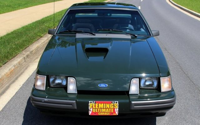 1985 ford mustang svo hertz rent a racer flemings ultimate for Garage ford vernon