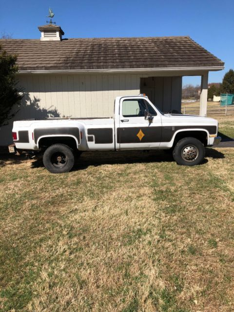 1985 GMC K3500 Chevy K30 6.2 diesel Dually for sale ...