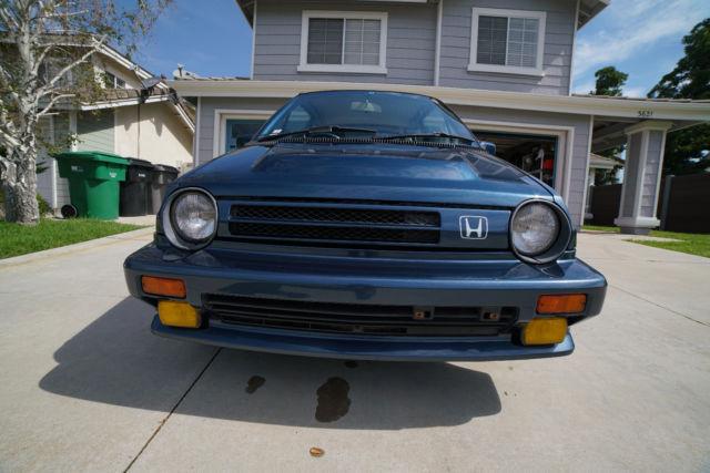 1985 honda city <strong>turbo</strong> ii jdm collector 53k mi intercooled no