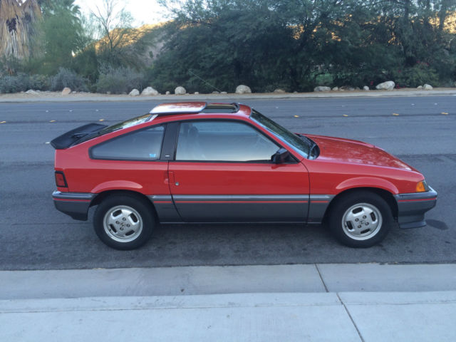 1985 honda crx si for sale in palm springs california. Black Bedroom Furniture Sets. Home Design Ideas