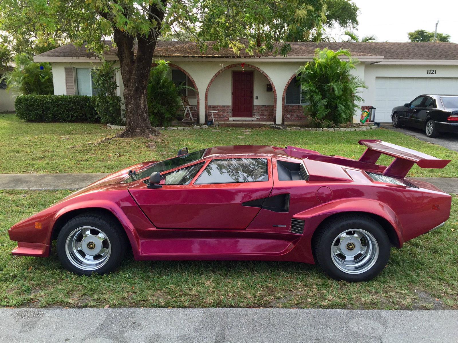 1985 Lamborghini Countach 5000 Replica For Sale In Fort
