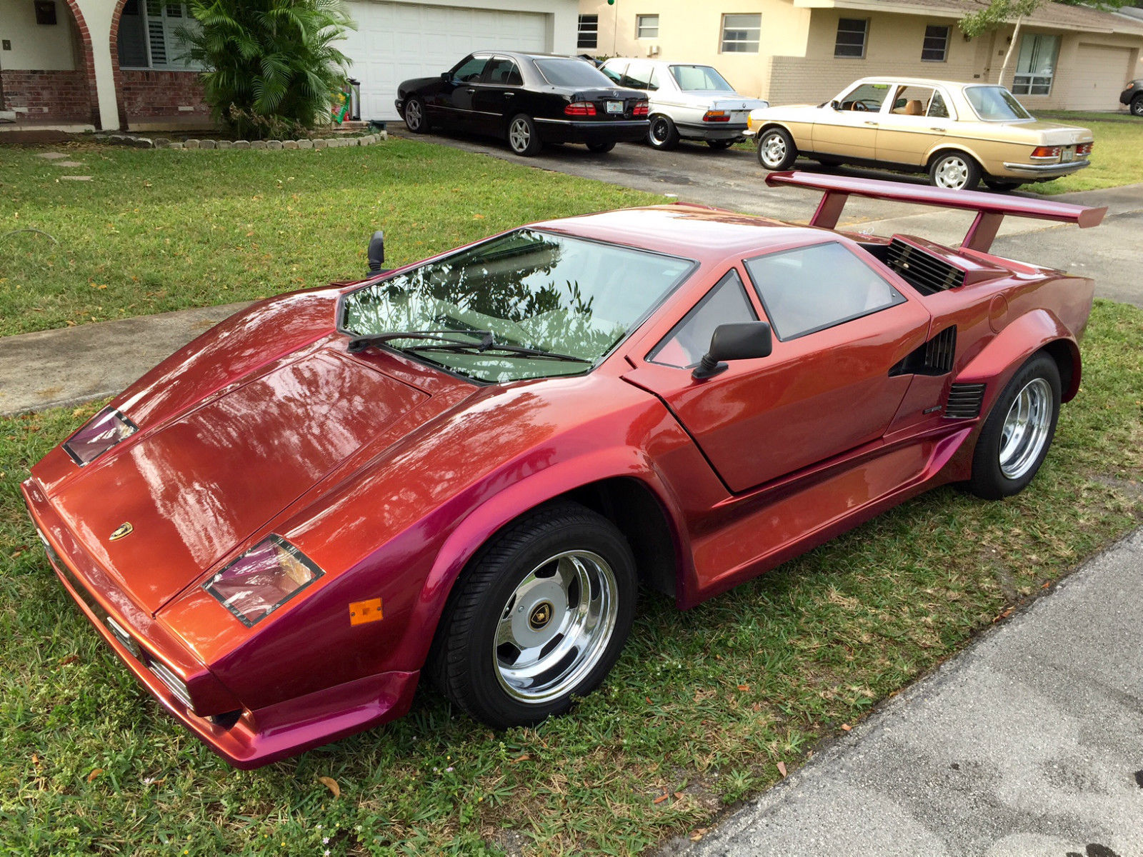 1985 lamborghini countach 5000 replica for sale in fort lauderdale florida united states. Black Bedroom Furniture Sets. Home Design Ideas
