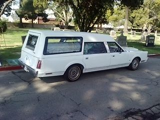 1985 Lincoln Town Car Hearse For Sale In San Bernardino California