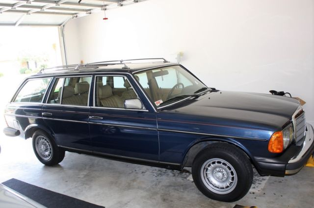 1985 mercedes benz 300 td station wagon for Mercedes benz 300 td