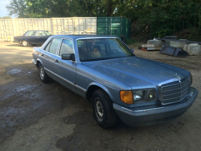 1985 mercedes benz 300sd light blue sedan for sale in for Mercedes benz of kc