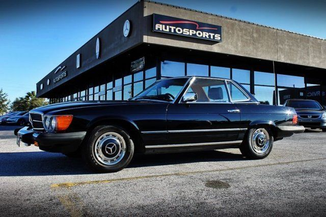 1985 mercedes benz 380 sl for sale in casselberry florida for Mercedes benz service contract cost