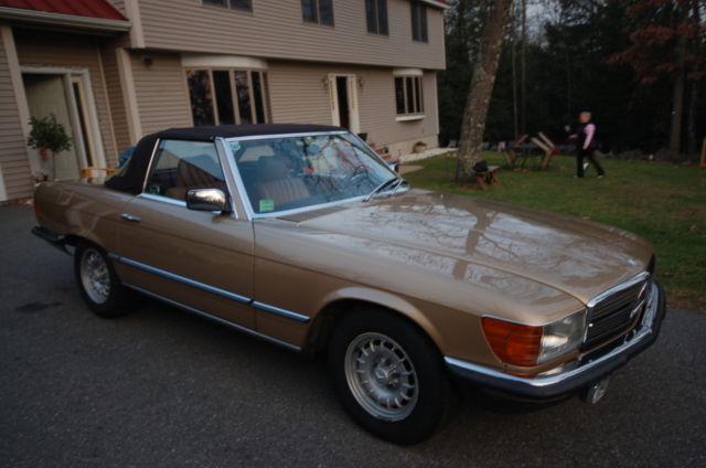 1985 mercedes benz 380sl european model excellent for Mercedes benz europe