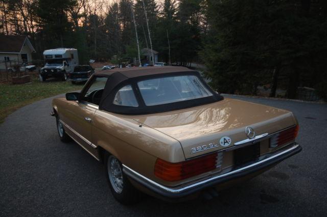 1985 mercedes benz 380sl european model excellent for Mercedes benz new hampshire