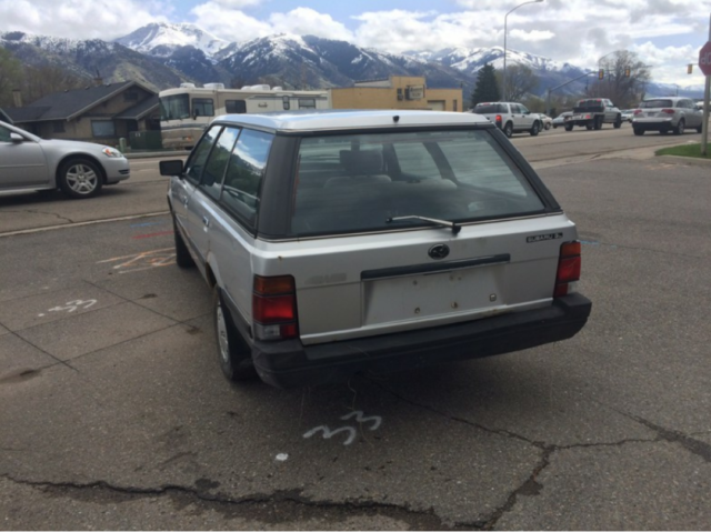 1985 Subaru Gl Wagon For Sale  Photos  Technical