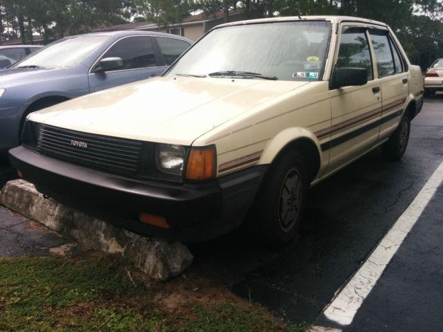 1985 toyota corolla sedan 4 door 1 6l for sale in panama city florida united states. Black Bedroom Furniture Sets. Home Design Ideas
