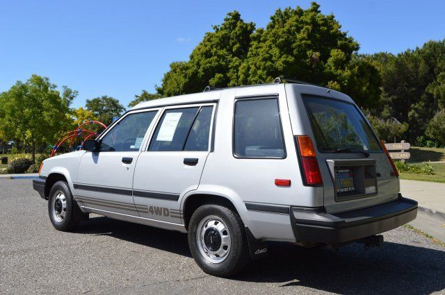 Toyota Tercel All Trac Rare Car Very Low Miles Collectible on 1985 Toyota Tercel Engine