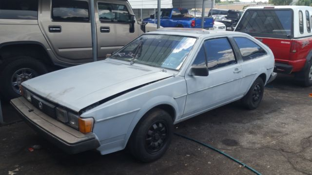 1985 Volkswagen Scirocco for sale: photos, technical specifications