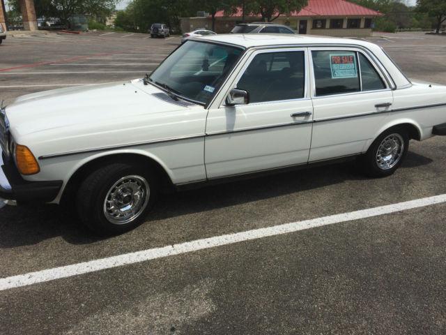 1985 white mercedes 300d turbo diesel good condition for for Mercedes benz turbo diesel