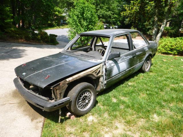 1986 BMW 325ES E30 Track Car Project PLUS parts car w ...