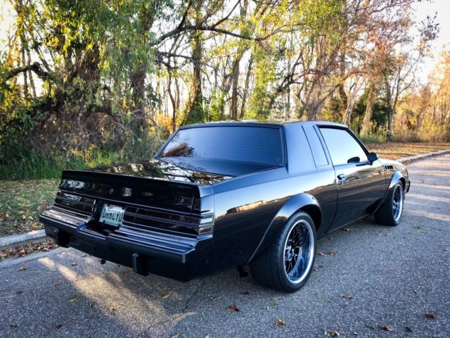 1986 Buick Regal >> 1986 Buick Regal Grand National T-Type GNX Turbo V6 for sale: photos, technical specifications ...