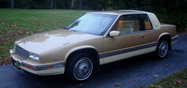1986 cadillac eldorado biarritz rare like new 1 owner only 17k miles for sale photos technical specifications description classiccardb com
