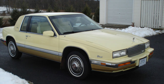 1986 cadillac eldorado biarritz coupe 2 door 4 1l for sale in lenhartsville pennsylvania united states for sale photos technical specifications description classiccardb com