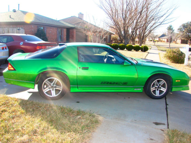1986 camaro z28 iroc for sale in amarillo texas united. Black Bedroom Furniture Sets. Home Design Ideas