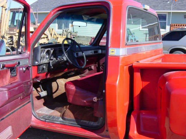 1986 chevrolet c10 silverado standard cab pickup 2 door 5 7l for sale in yadkinville north. Black Bedroom Furniture Sets. Home Design Ideas