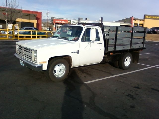 1986 chevrolet c30 flat bed truck for sale in reno nevada united states. Black Bedroom Furniture Sets. Home Design Ideas