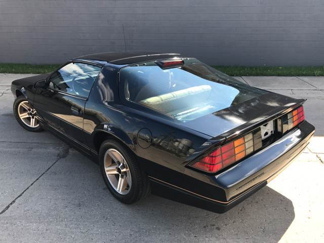 1986 Chevrolet Camaro Iroc Z 11 509 Original Miles For