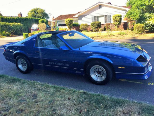 1986 Chevrolet Camaro Iroc-Z -28 for sale in Portland ...