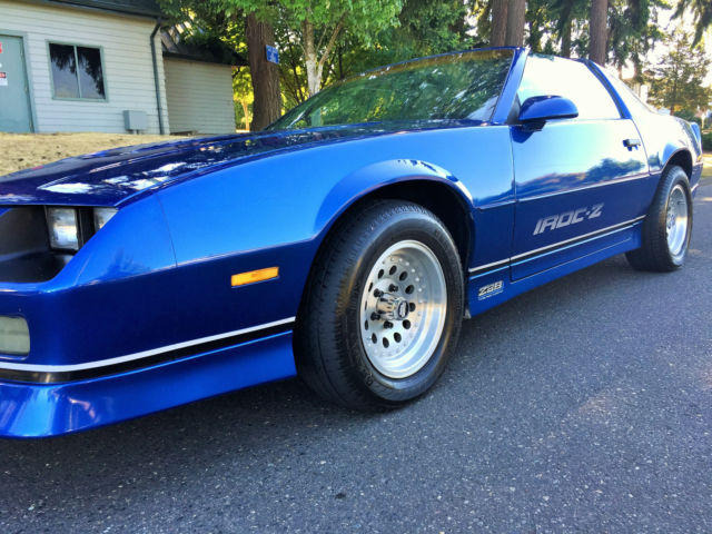 1986 chevrolet camaro iroc z 28 for sale in portland. Black Bedroom Furniture Sets. Home Design Ideas