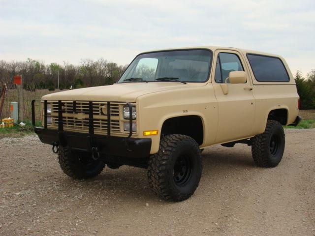 1986 Chevrolet M1009 Cucv K5 Diesel Military Blazer