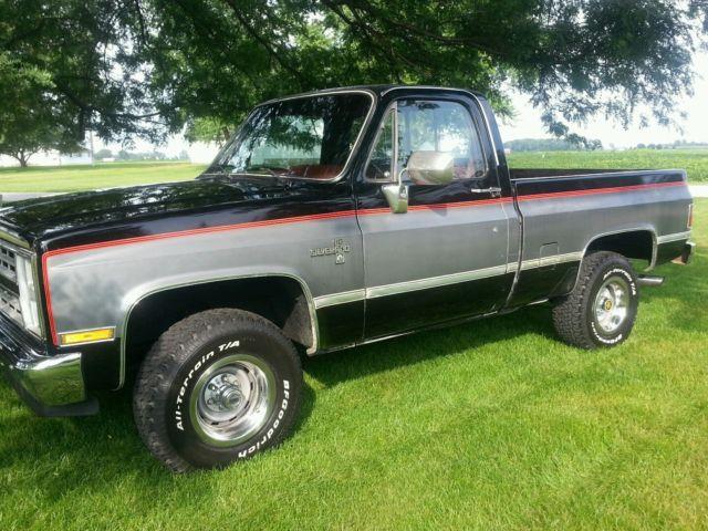 1986 chevy k10 k20 k30 short bed swb 4x4 1500 truck for