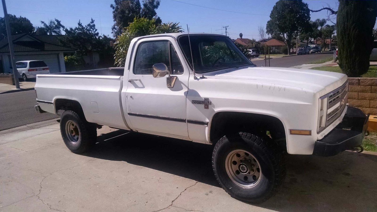 1986 chevy k20 383 stroker 4x4 for sale in buena park california united states. Black Bedroom Furniture Sets. Home Design Ideas