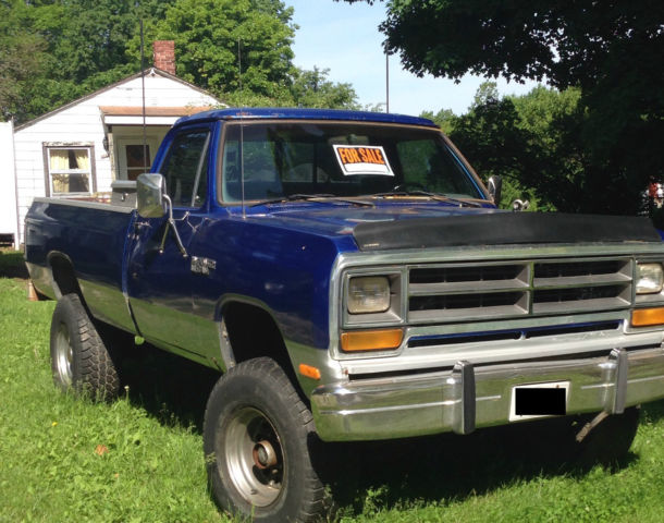 1986 dodge power ram 250 for sale in east moline illinois united states. Black Bedroom Furniture Sets. Home Design Ideas