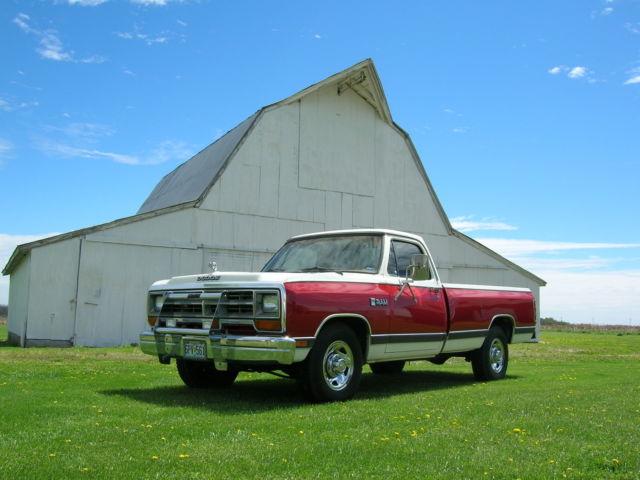 1986 Dodge Ram 2500 360 Loaded   Arizona Truck   Very