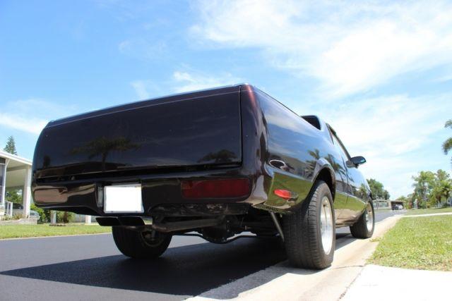 1986 El Camino Custom With Custom Black Cherry Paint And