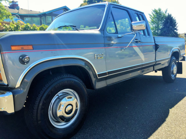 1986 Ford 250 Extended Cab Xlt Lariat For Sale In Portland