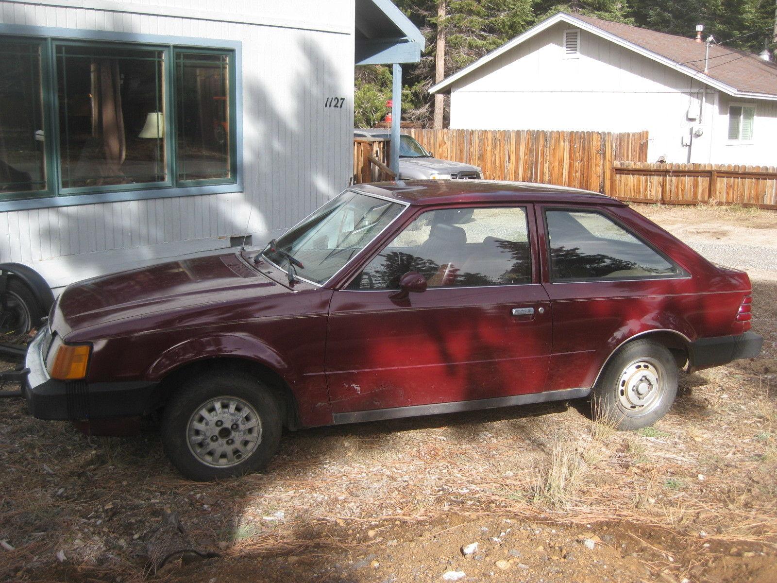 1986 Ford Escort 2-Door 2.0L Diesel for sale in South Lake ...