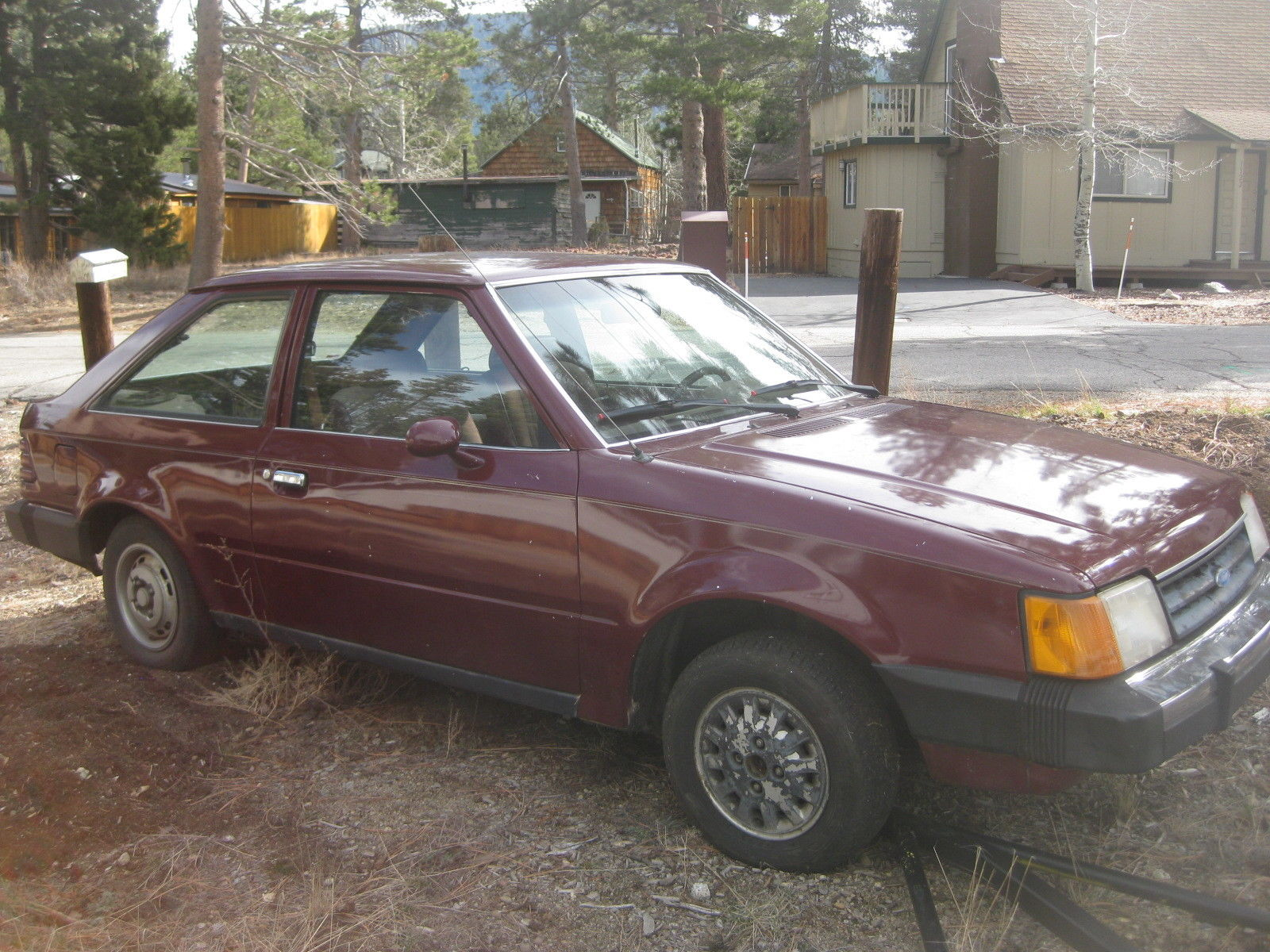 1986 Ford Escort MPG - Actual MPG from 1 1986 - Fuelly