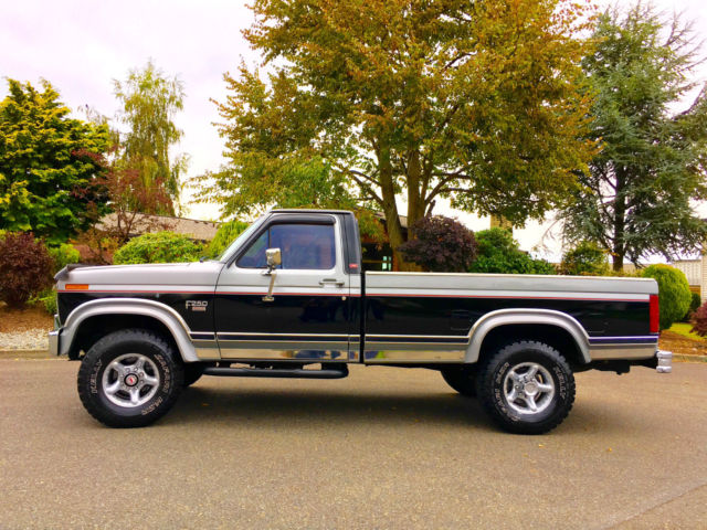 1986 FORD F-250 XLT 4X4 LARIAT DIESEL LOW MILES ALL ...