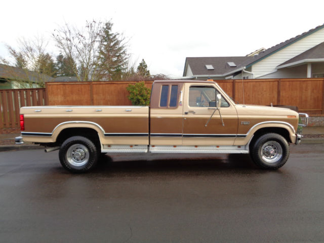 1986 Ford F250 Extended Cab Long bed 4x4 1987 1988 1989 ...