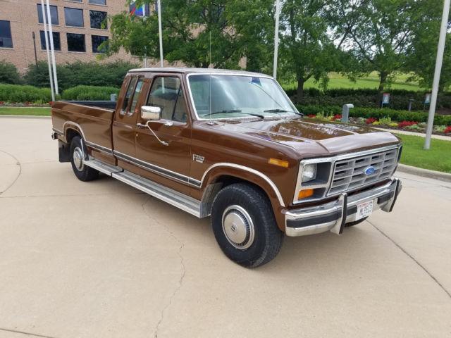 1986 FORD F250 XLT Ford truck bronco f150 f350 1987 1988 ...