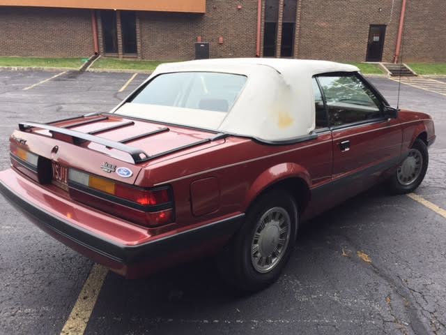 1986 Ford Mustang Lx Convertible 13422 Miles    No Reserve     For Sale  Photos  Technical