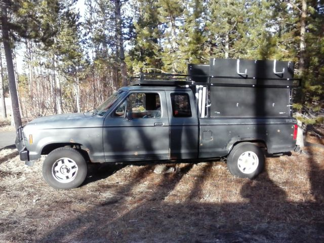 1986 ford ranger stx extended cab pickup 2 door 2 9l for sale in south lake tahoe california. Black Bedroom Furniture Sets. Home Design Ideas