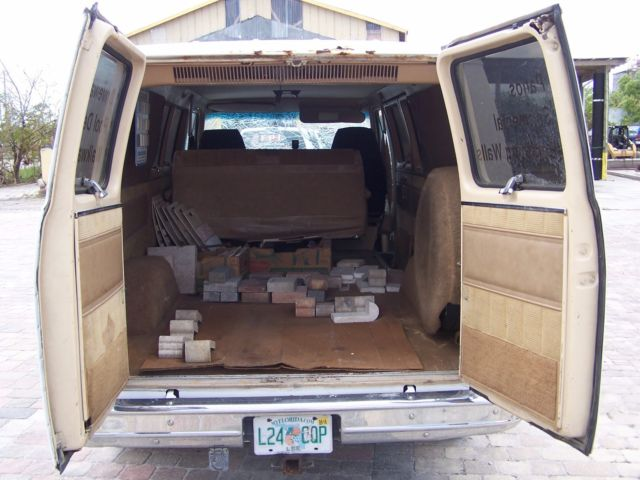 Acura Fort Myers >> 1986 GMC Rally STX Diesel Van Great for Parts for sale: photos, technical specifications ...