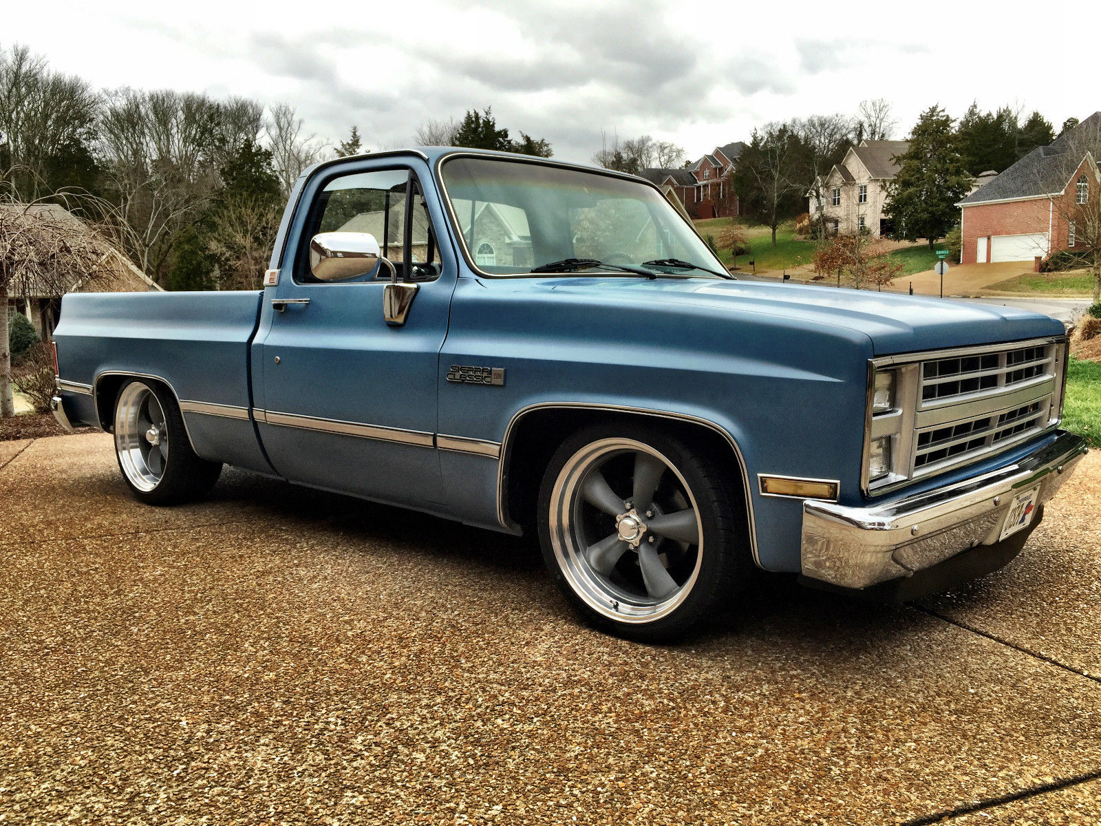 1986 Gmc Sierra Chevy C10 Short Bed Shop Truck For Sale In