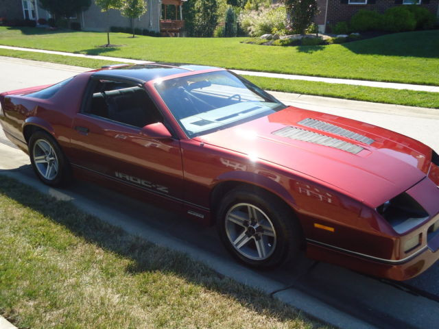 1986 iroc z28 camaro ttops new tires for sale in union. Black Bedroom Furniture Sets. Home Design Ideas