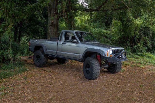 1986 Jeep Comanche 59l V8 Engine Full Custom Restoration